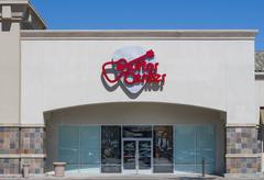 Guitar Center Retail Store and Logo Stock Photos