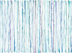 Blue purple splatter grunge lines background over white Stock Illustration