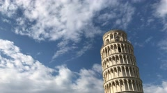 PISA –  Tourists in Square of Miracles. Pisa attracts 3 million Stock Footage
