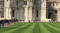 Square of Miracles, Pisa. View of Cathedral Stock Footage