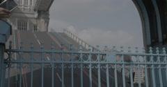 Tower Bridge Rising / London, England - 4K Stock Footage