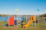 Playground for little children Stock Photos