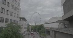 The London Eye / London, England - 4K Stock Footage