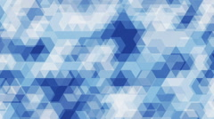 Geometric shapes background Stock Footage