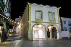 Slave market - place, where the first slave was brought, Lagos, Portugal Stock Photos