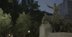 Plaza de España - Madrid, Spain - 4K Stock Footage