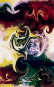 Abstract colorful background with motion, dynamic and movement concept Piirros