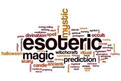 Esoteric word cloud Piirros