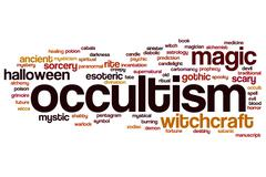 Occultism word cloud Piirros