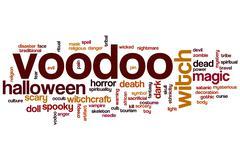 Voodoo word cloud Stock Illustration