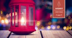 Merry Christmas banner Stock Illustration