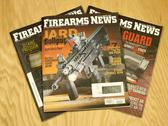 Firearms News magazine Stock Photos