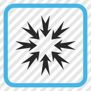 Pressure Arrows Vector Icon In a Frame Stock Illustration