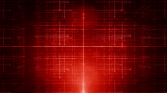 Background line with light Tilt Red LOOP Stock Footage