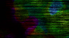 Dark Colored Noise Lines Dirty Flowing Abstract Background Stock Footage