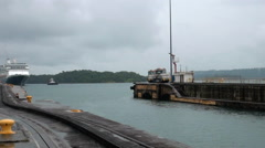 Panama Canal, Panama - September 2013 Stock Footage