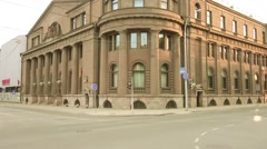 Bank of Lithuania, Kaunas Division. Stock Footage