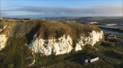 Newhaven Fort from the air Stock Footage