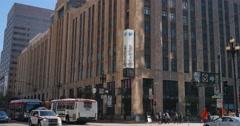Establishing Shot of Twitter Headquarters in San Francisco   Stock Footage