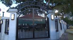Domino Park Miami Stock Footage