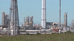Sines oil refinery, Portugal, Europe Stock Footage