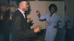 African American Black People Dance Dancing 1960s Vintage Film Home Movie 10108 Stock Footage