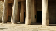 Neue Wache (New Guardhouse) in Berlin, Germany Stock Footage