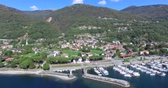 Gera Lario - Como lake 4k Stock Footage