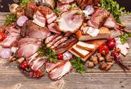 Smoked pork meat Stock Photos