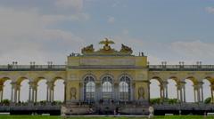 Gloriette at Schönbrunn Palace in 4k Stock Footage