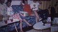Happy African American Black Couple Party 1970s Vintage Film Home Movie 10049 HD Footage