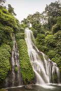 Rainforest waterfall, Wana Giri, Bali, Indonesia Stock Photos