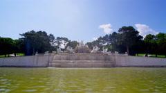 Fontaine Schönbrunn Palace in 4k Stock Footage