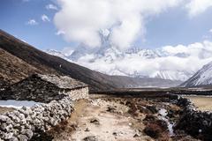 Mount Everest Trek, Nepal Stock Photos