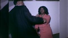 African American Black People Dance Dancing 1960s Vintage Film Home Movie 10043 Stock Footage
