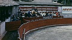 Ecuador 1970: bullfighting arena Stock Footage