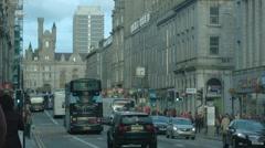 1k Timelapse, Aberdeen City, Scotland Stock Footage