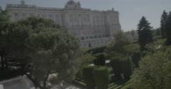 Royal Palace of Madrid / Palacio Real de Madrid - Madrid, Spain - 4K Stock Footage