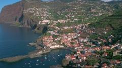 Madeira - Câmara de Lobos Stock Footage