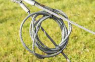 Wire hawser rope Stock Photos