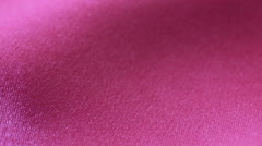 Smooth elegant lilac silk or satin texture can use as background. soft tissue Stock Footage