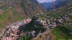 Madeira - Ribeira Brava Stock Footage
