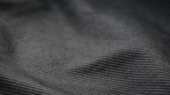 Extreme close up of a pin-striped cloth. can use as background Stock Footage