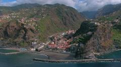 Madeira Island - Ribeira Brava Stock Footage