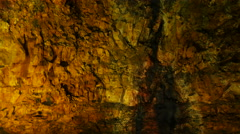 Magma chamber in a dormant volcano, Iceland, 4k Stock Footage