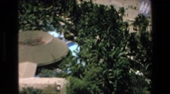 1972: aerial view of the beach of sea with resorts and palm trees MAZATLAN Stock Footage