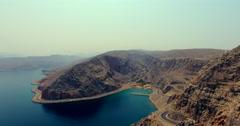 Establishing shot 3 Musandam Sultanate of Oman Stock Footage