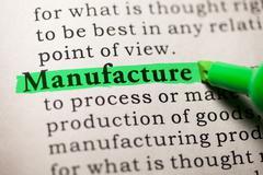 Manufacture Stock Illustration