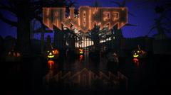 Happy Halloween. Stock Footage