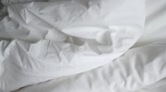 Shot of White Linens Stock Footage